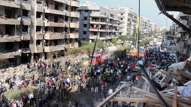 Bombings in Beirut Indicate New Escalation