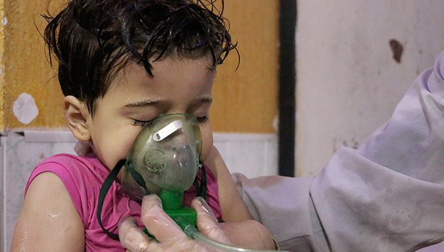 Monday Briefing: Assad's chemical warfare