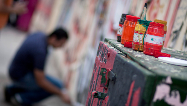 Alexandria Artists Make the City Their Canvas