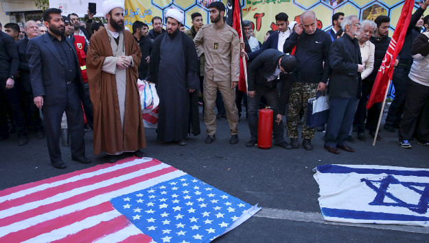 "Iran Marks Embassy Seizure Anniversary with ""Death to America"" Slogan"