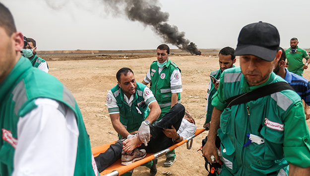 Gaza fails to capture world's attention