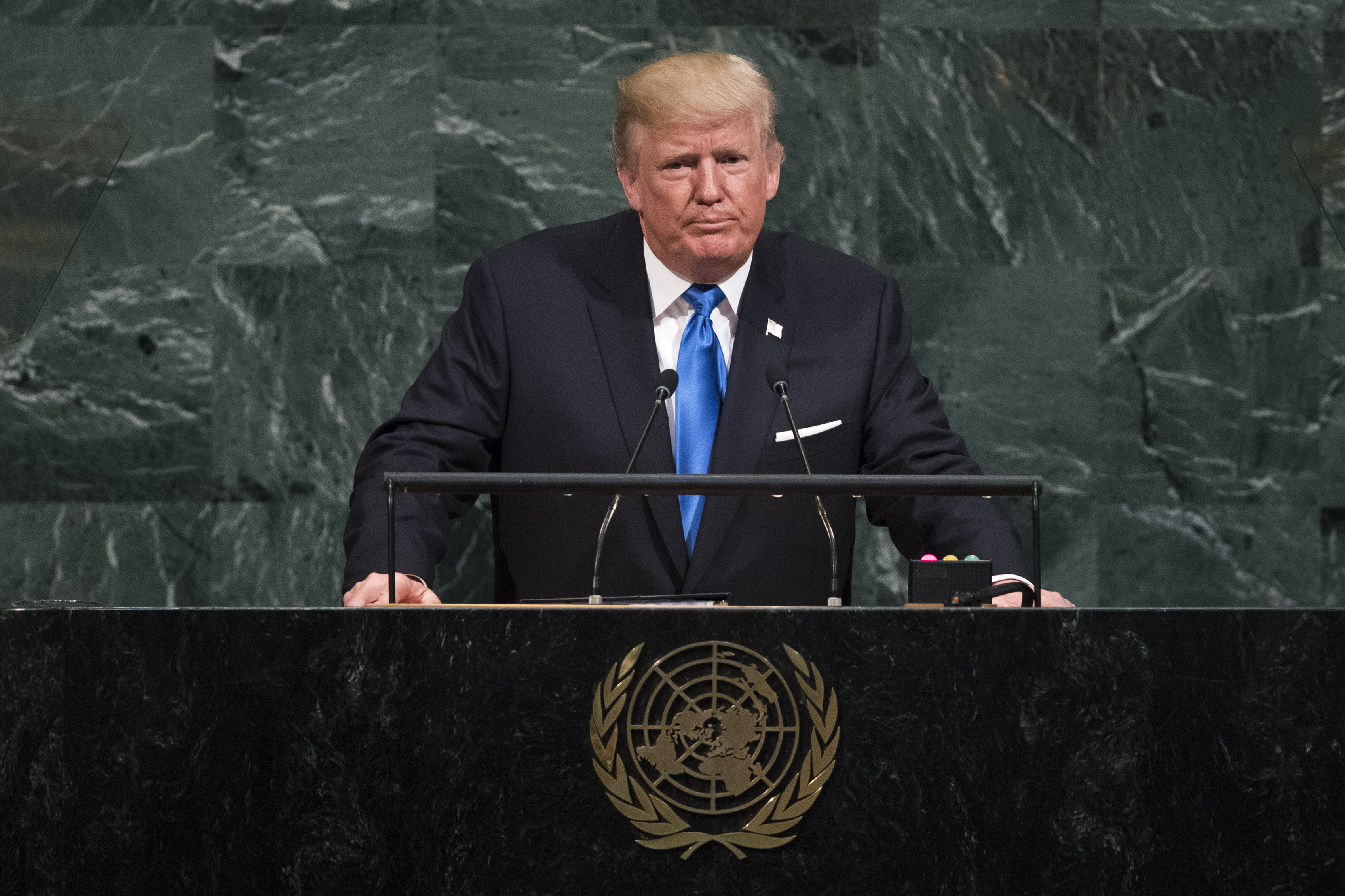 Trump comes to leverage the UN, not to bury it | Monday Briefing