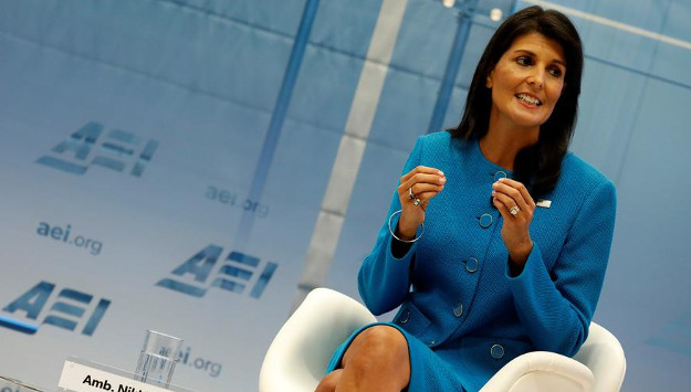 Reactions in Tehran to Nikki Haley's Iran Nuclear Deal Remarks