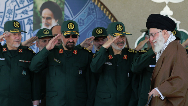 "IRGC commander says Iran-led ""international Islamic force"" has defeated U.S., encircled Israel"
