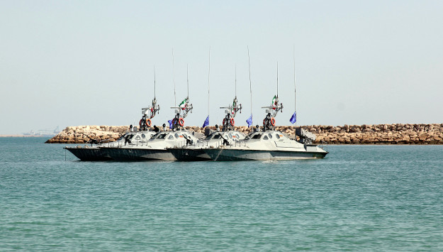 Iran dispatches flotilla of warships to international waters
