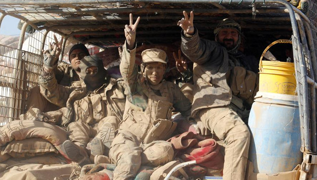 Iran-backed group says Hashd al-Shaabi will not merge into Iraq's security institutions