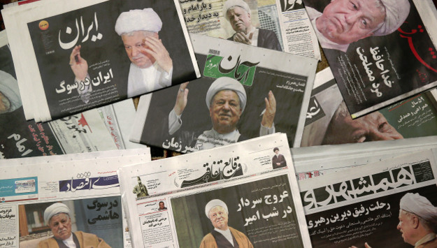 Rafsanjani's Death Weakens Rouhani's Reelection Prospects