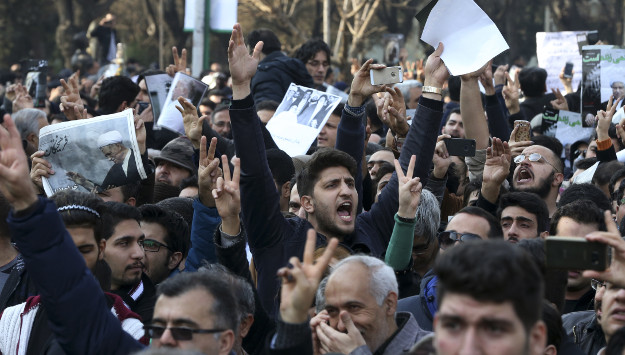 Rafsanjani's Funeral Turns into Anti-Regime Protest
