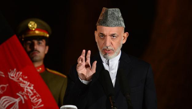 Reading Hamid Karzai