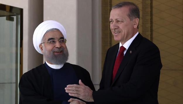 Rouhani, Erdogan pledge cooperation, but mutual distrust remains