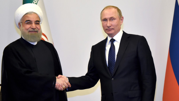 Rouhani Asks Putin to Continue Support for Assad