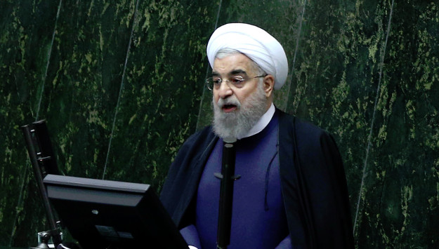 Hardliners Question Rouhani's Pledge to Remove Remaining Sanctions if Reelected