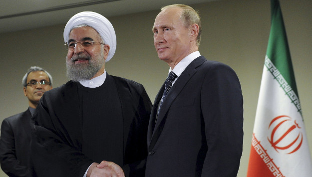 Rouhani Visits Moscow to Bolster Iran-Russia Ties amid Fears of U.S.-Russia Partnership