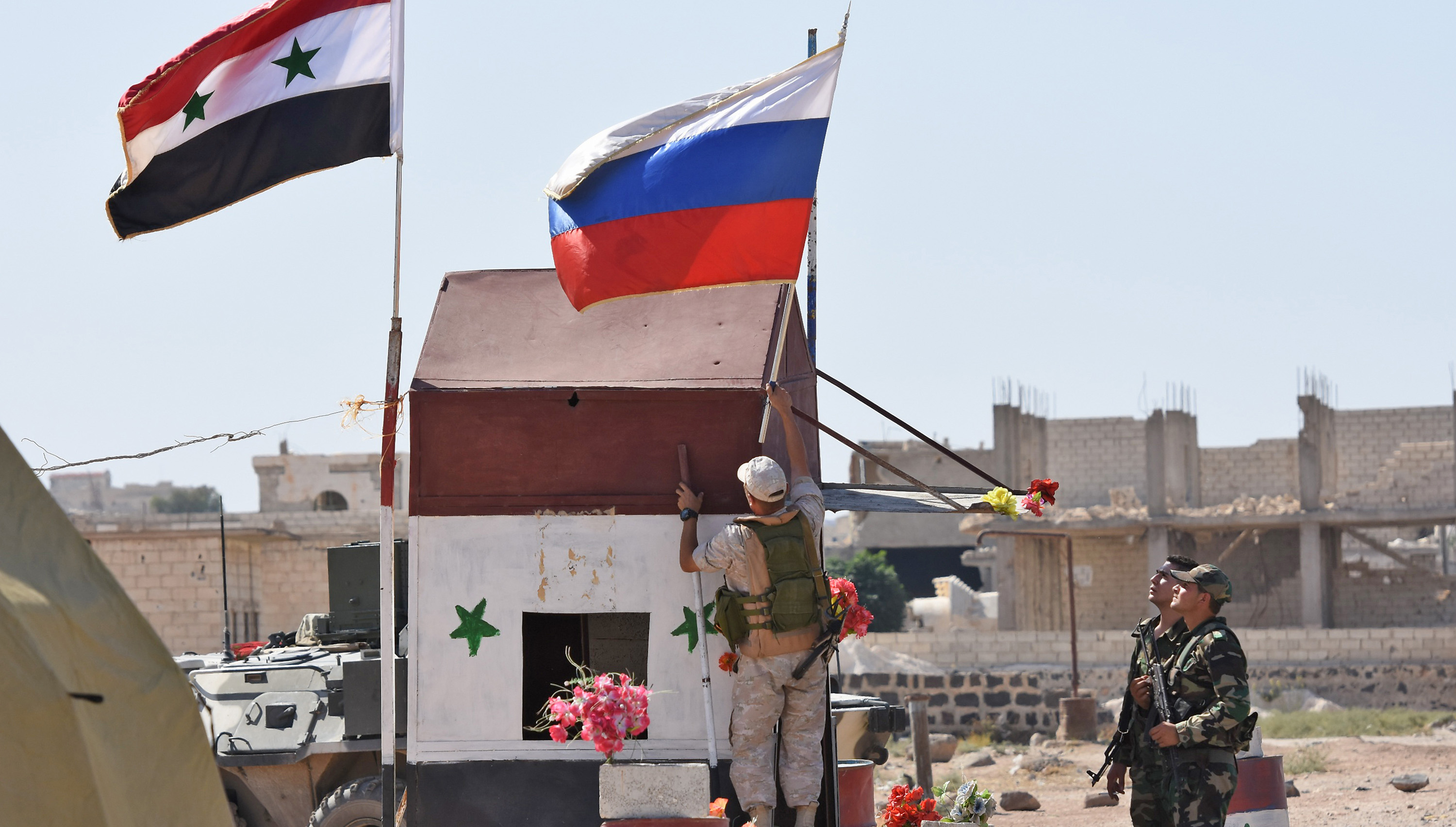 The Tiger Forces: Pro-Assad fighters backed by Russia