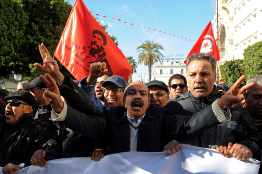Tunisia's protests are a wake-up call for leaders