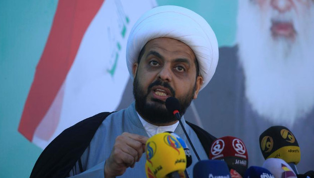 Iranian-supported militia leader calls for US exit from Iraq