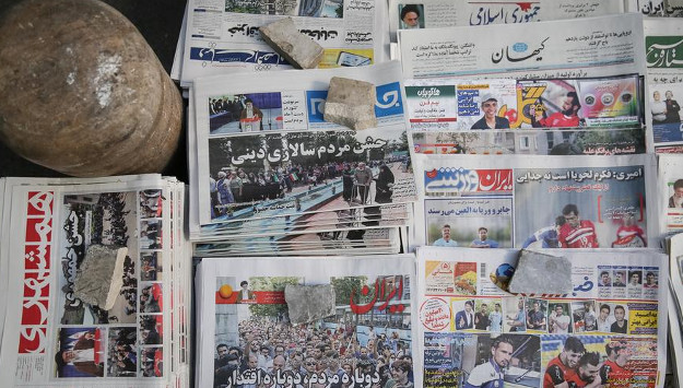 Tehran Tries to Control the War Scare