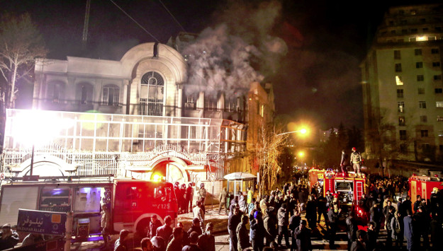 "Iranian Responsible for Saudi Embassy Attack Claims Iran Government Gave ""Green Light"""