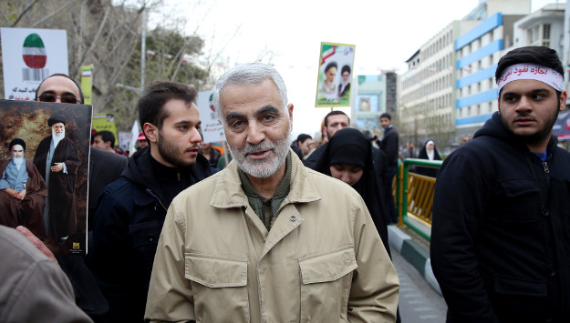 Iran's Quds Force Commander Spotted in War-Torn Aleppo