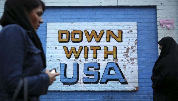 "Iran Hosts International ""Down with USA"" Exhibition"