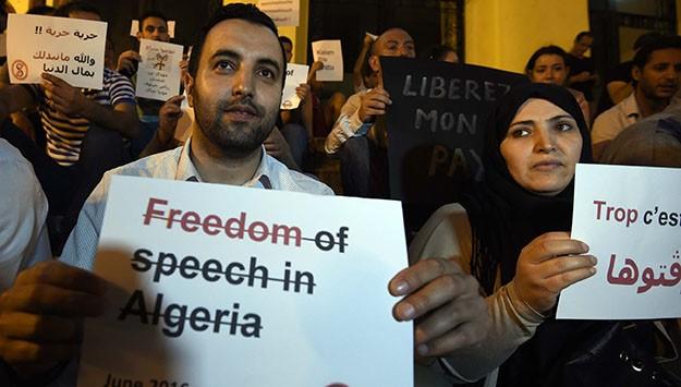 Algeria's short bursts of discontent no threat to ruling elite