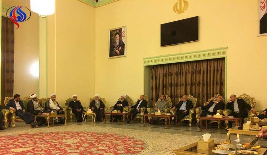 Tehran's envoy to Baghdad meets Iraqi leaders in run-up to parliamentary vote